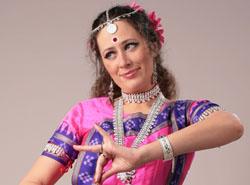 Ксения Суслова, индийский классический танец Одисси