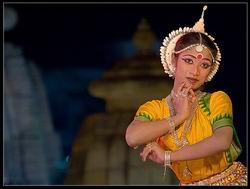 Одисси - индийский классический танец, Храмовый танец Одисси