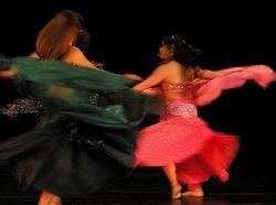 Концерт восточного танца. танец живота, беллиденс, индийский танец