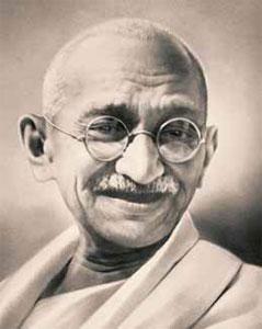 Международный день ненасилия. Махатма Ганди