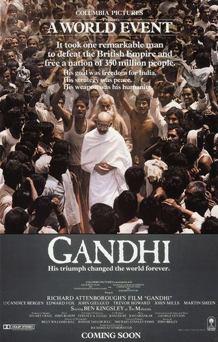 Международный день ненасилия. Фильм Ганди