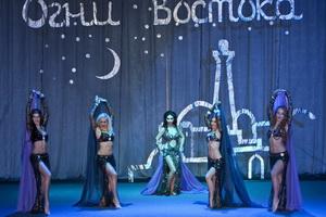 Огни востока - индийский танец конкурс