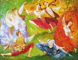 Весенние танцы и выступления