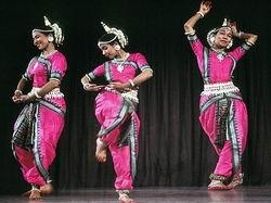 Индийский храмовый танец Одисси. Пратибха Джена Сингх