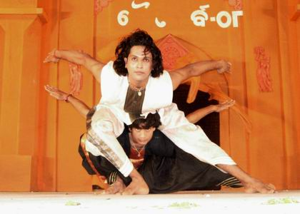Радж Кумар Шарма. Индийский танцор, хореограф