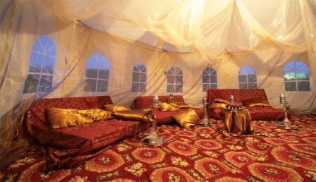 Сказочный шатер. Шелковый путь