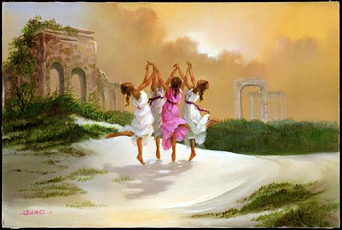 Сакральные танцы. sacred dance. Шелковый путь
