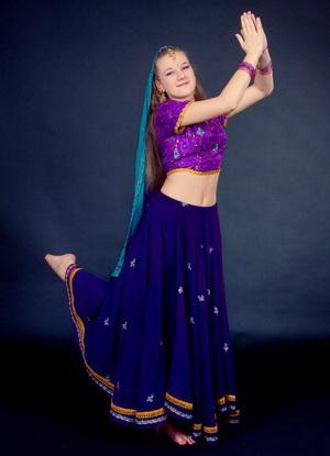 Индийские танцы для детей