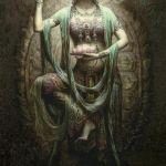 Индийские богини в картинах 4