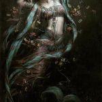 Индийские богини в картинах 6
