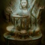 Индийские богини в картинах 0