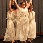 """Шоу-балет Шелковый путь. Овен. Греческий танец """"Божественные Оры""""."""