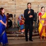 Открытие вечеринки послом Индии Радживом Чандером